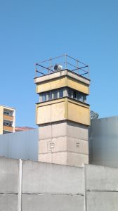 Guard Tower at the Berlin Wall Memorial by Jets Like Taxis
