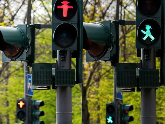 Berlin Crosswalk by Jack Zalium on Flickr