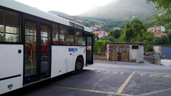 Bus Stop in Kamenari, Montenegro by Jets Like Taxis