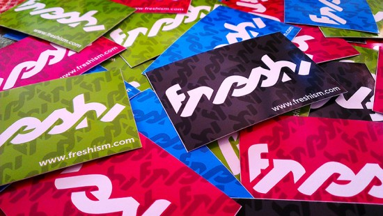 freshism stickers