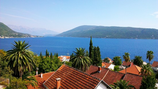 View of Luštica from Herceg Novi, Montenegro by Jets Like Taxis
