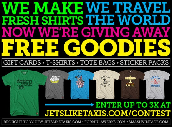 Jets Like Taxis Contest