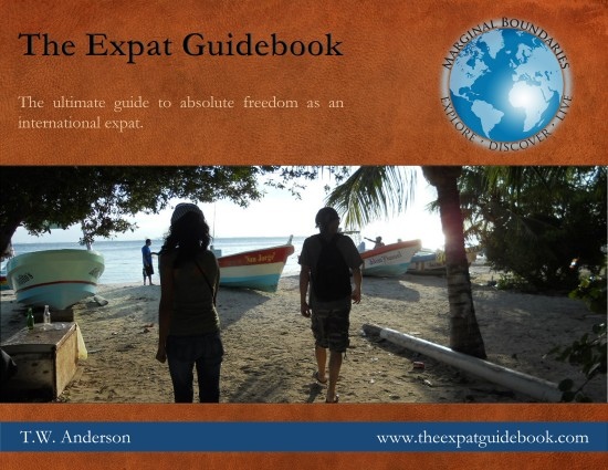 Marginal Boundaries - The Expat Guidebook by T.W. Anderson