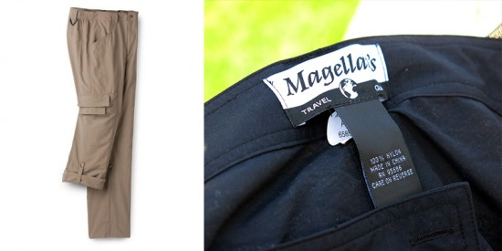Adventure & Travel Convertible Pants by Magellan's