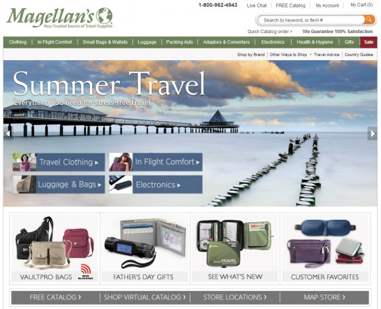 Magellan's: Your Trusted Source of Travel Supplies