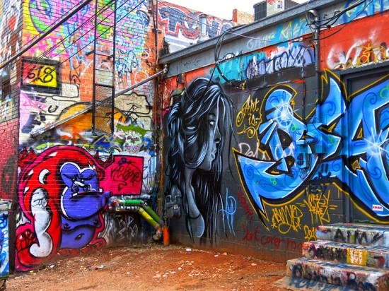 Art Alley in Rapid City, SD by Jets Like Taxis