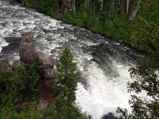 Upper Mesa Falls, Idaho by Jets Like Taxis