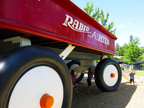 Riverfront Park and the Radio Flyer in Spokane, WA by Jets Like Taxis