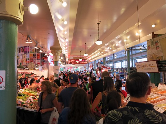 Pike Place Market in Seattle by Jets Like Taxis