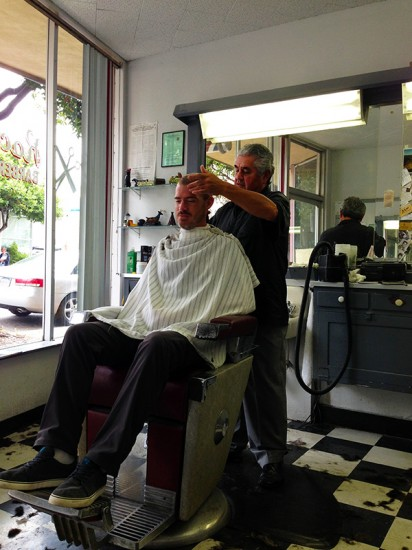 Rocky's Barber Shop in Eureka, California by Jets Like Taxis