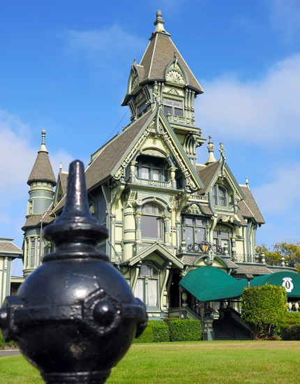 Carson Mansion in Eureka, CA, by Jets Like Taxis