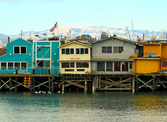 Fisherman's Wharf in Monterey, CA by Jets Like Taxis