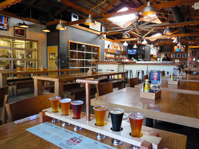 SLO Brewing Company in San Luis Obispo, CA by Jets Like Taxis