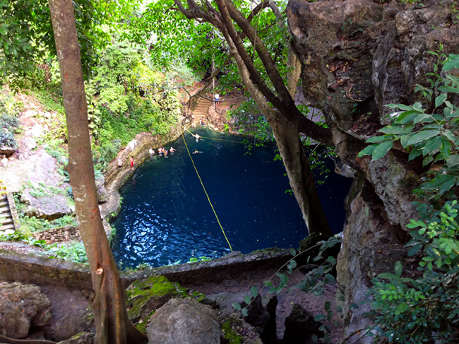 Cenote Zaci in Valladolid, Mexico by Jets Like Taxis