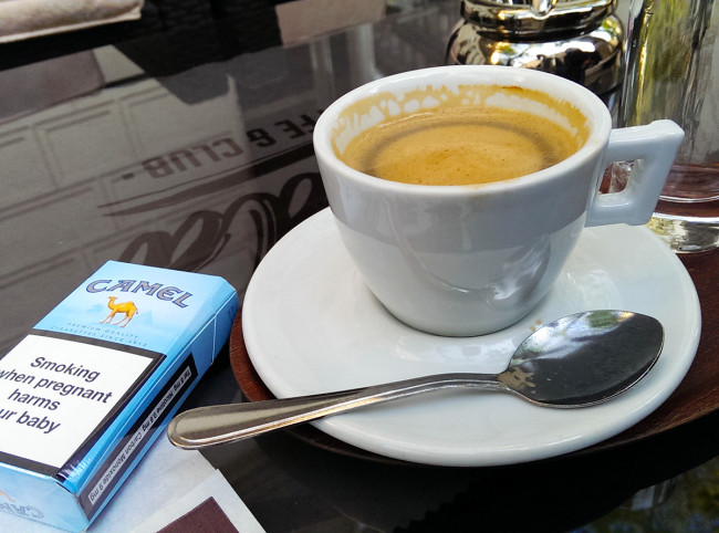 Coffee in Vienna, Austria by Jets Like Taxis