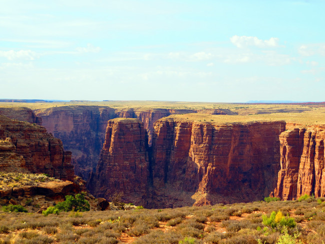 Little Colorado River Gorge, Navajo Nation, Arizona by Jets Like Taxis