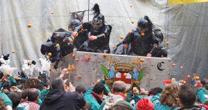 Borghetto Battle of Oranges