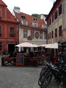 Cesky Krumlov, Czech Republic by Jets Like Taxis