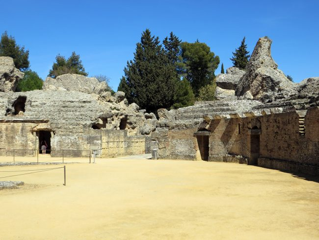 Italica Roman Ruins by Jets Like Taxis