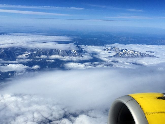 Picos de Europa on Vueling by Jets Like Taxis