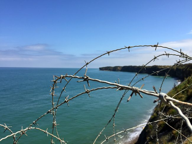 Pointe du Hoc in Normandy by Jets Like Taxis