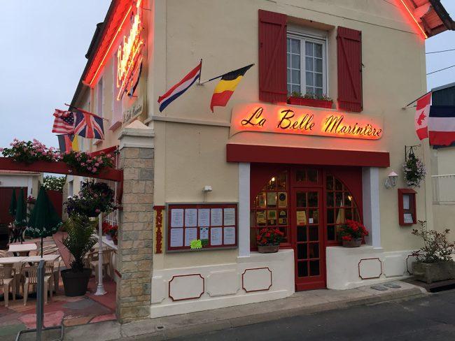 La Belle Marinière in Grandcamp-Maisy, France