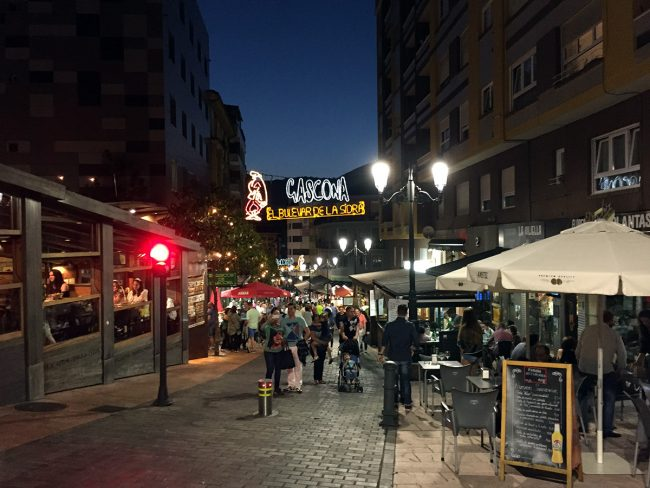 El Bulevar de la Sidra in Oviedo, Spain by Jets Like Taxis
