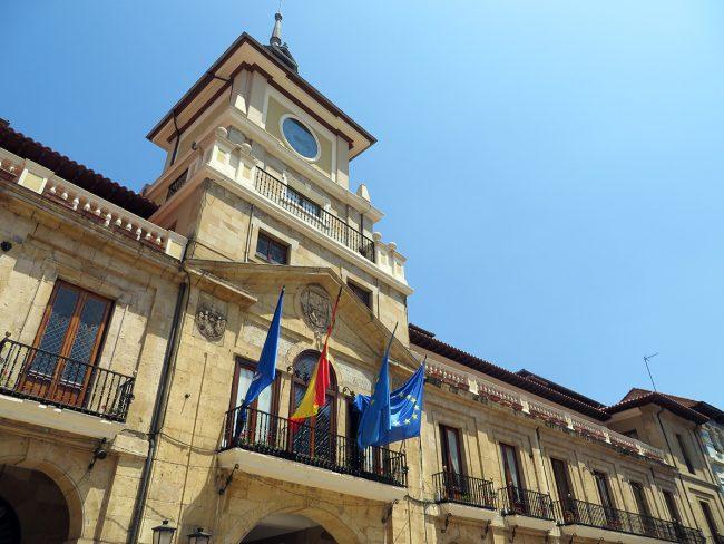 Ayuntamiento in Oviedo, Spain by Jets Like Taxis
