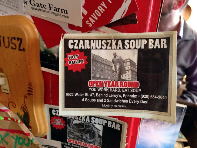 Czarnuszka Soup Bar in Door County, WI by Jets Like Taxis