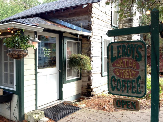 Leroy's Water Street Coffee in Door County, WI by Jets Like Taxis