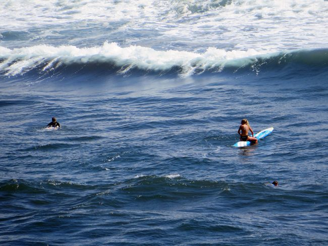 Surfers in Salinas, Asturias by Jets Like Taxis