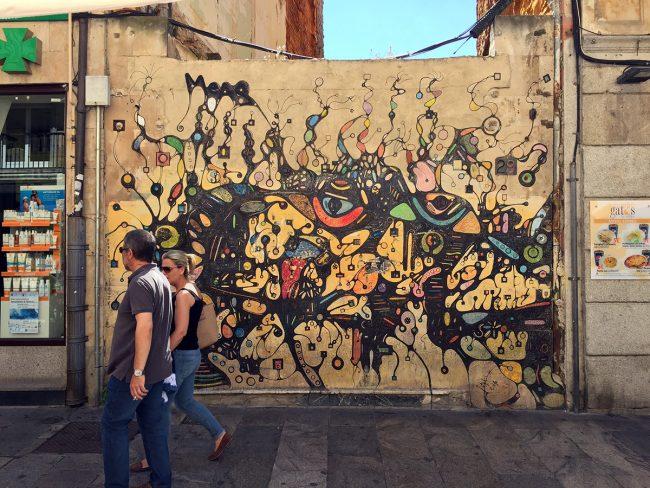 Street Art in Salamanca, Spain by Jets Like Taxis