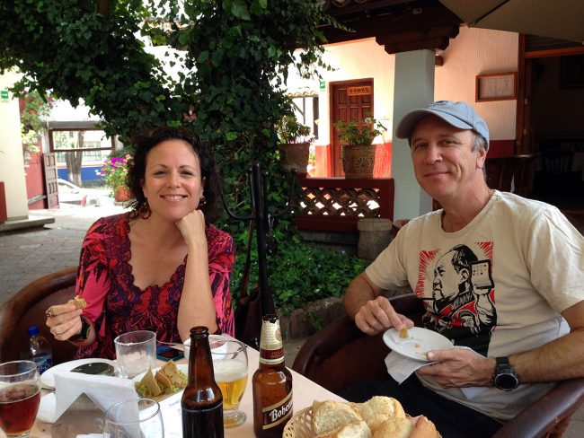 Tim and Donna Leffel in Guanajuato, Mexico