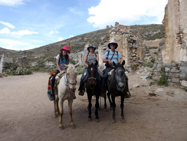 Tim Leffel in Real de Catorce, Mexico