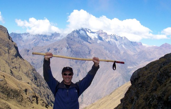 Tim Leffel on the Inca Trail