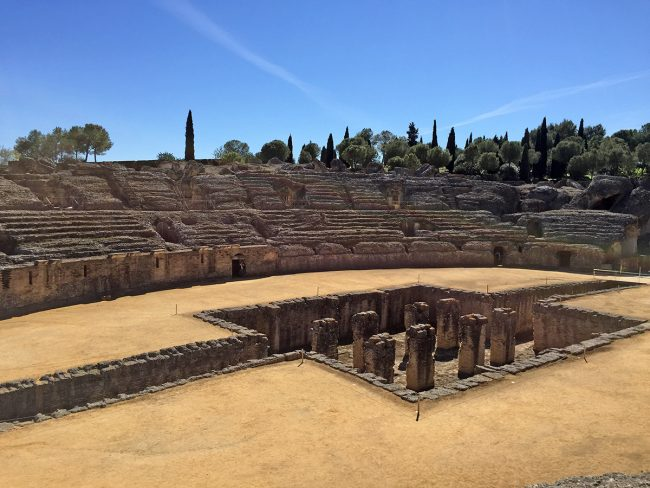 Itálica Ruins in Santiponce, Spain by Jets Like Taxis