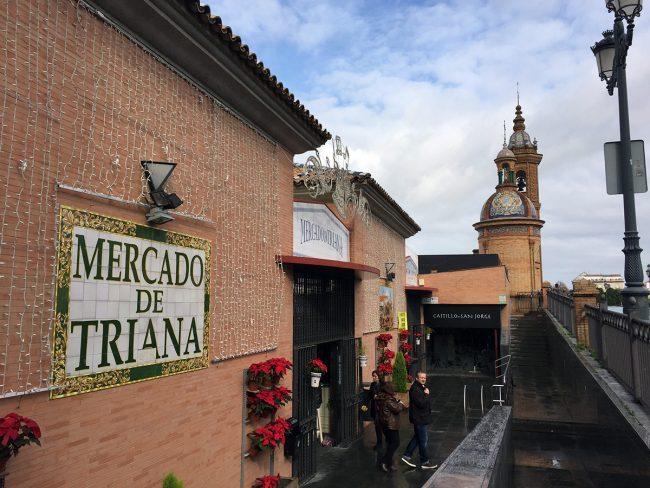 Mercado de Triana in Seville, Spain by Jets Like Taxis