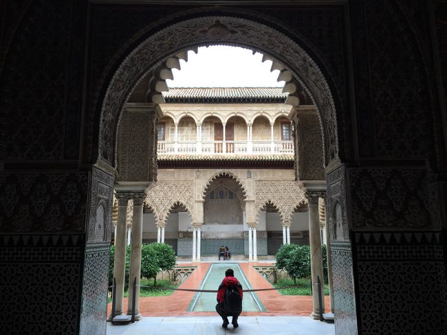 Real Alcázar in Seville, Spain by Jets Like Taxis