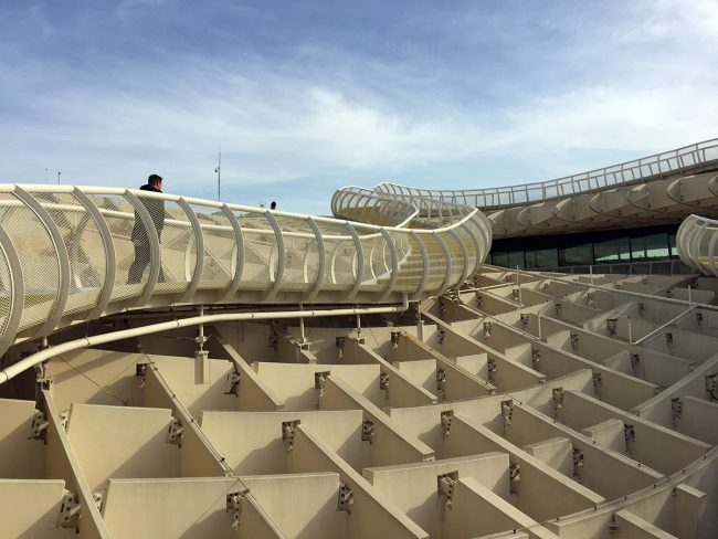 Metropol Parasol in Seville, Spain by Jets Like Taxis