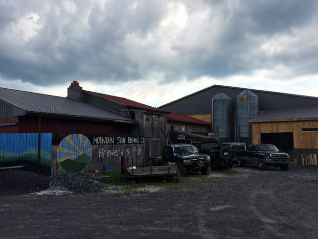 Mountain State Brewing in Thomas, WV by Jets Like Taxis