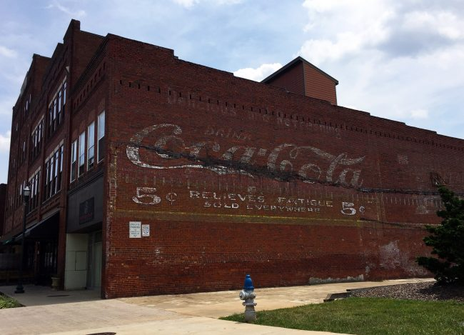 Coca-Cola Sign in Johnson City, Tennessee by Jets Like Taxis