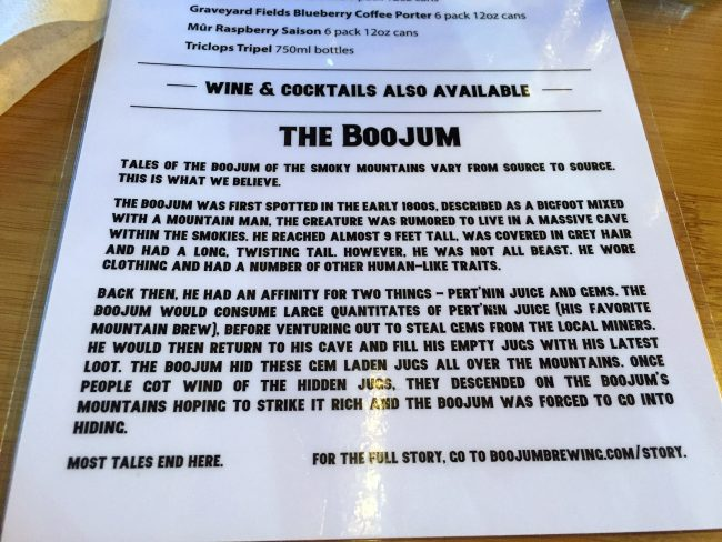 Boojum Brewing Company in Waynesville, NC by Jets Like Taxis