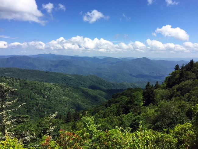 Blue Ridge Parkway in NC by Jets Like Taxis