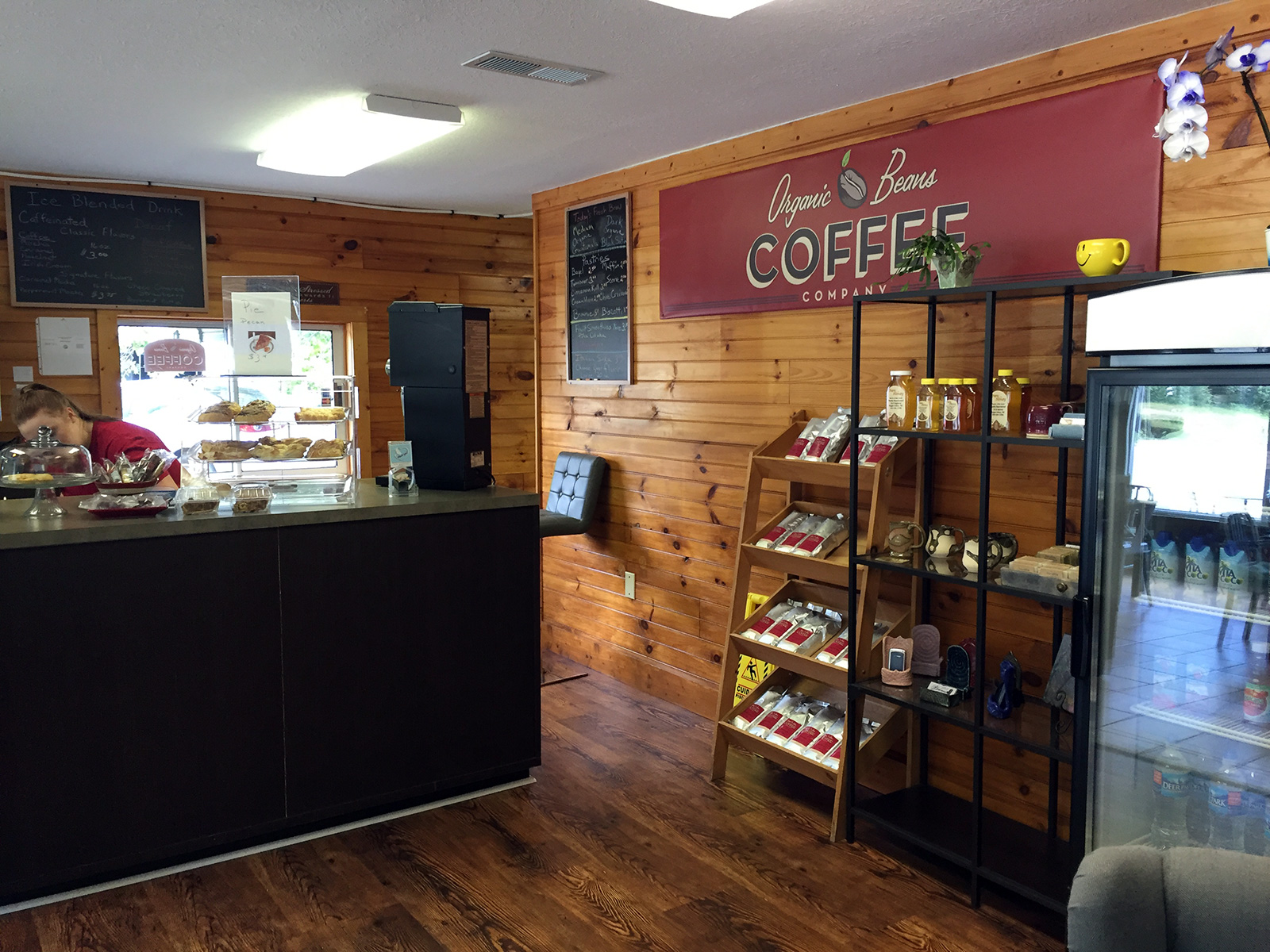 Organic Beans Coffee Shop in Maggie Valley, NC by Jets Like Taxis