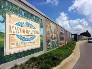 Murals in Paducah, Kentucky by Jets Like Taxis