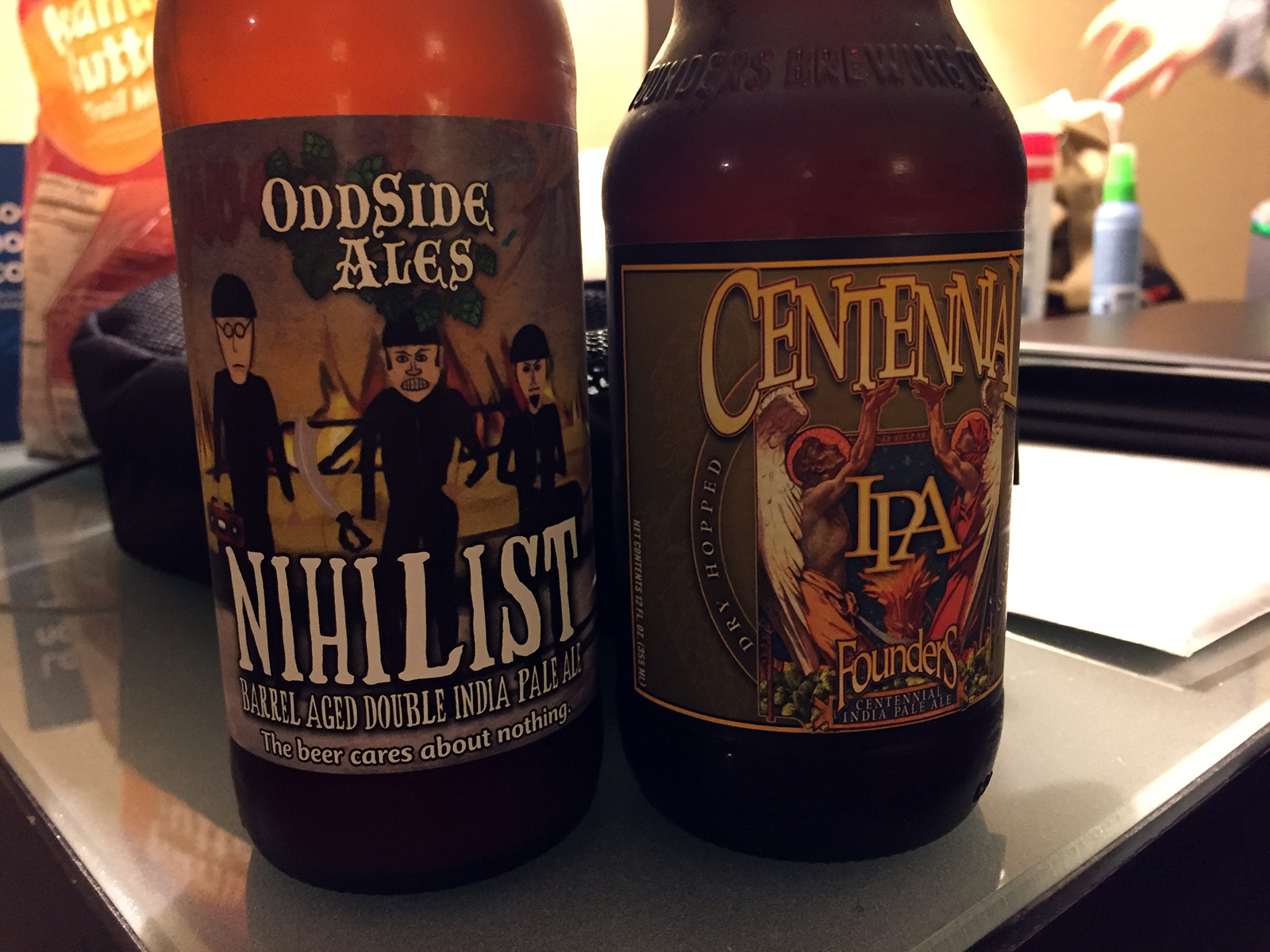 Odd Side Ales and Founders by Jets Like Taxis