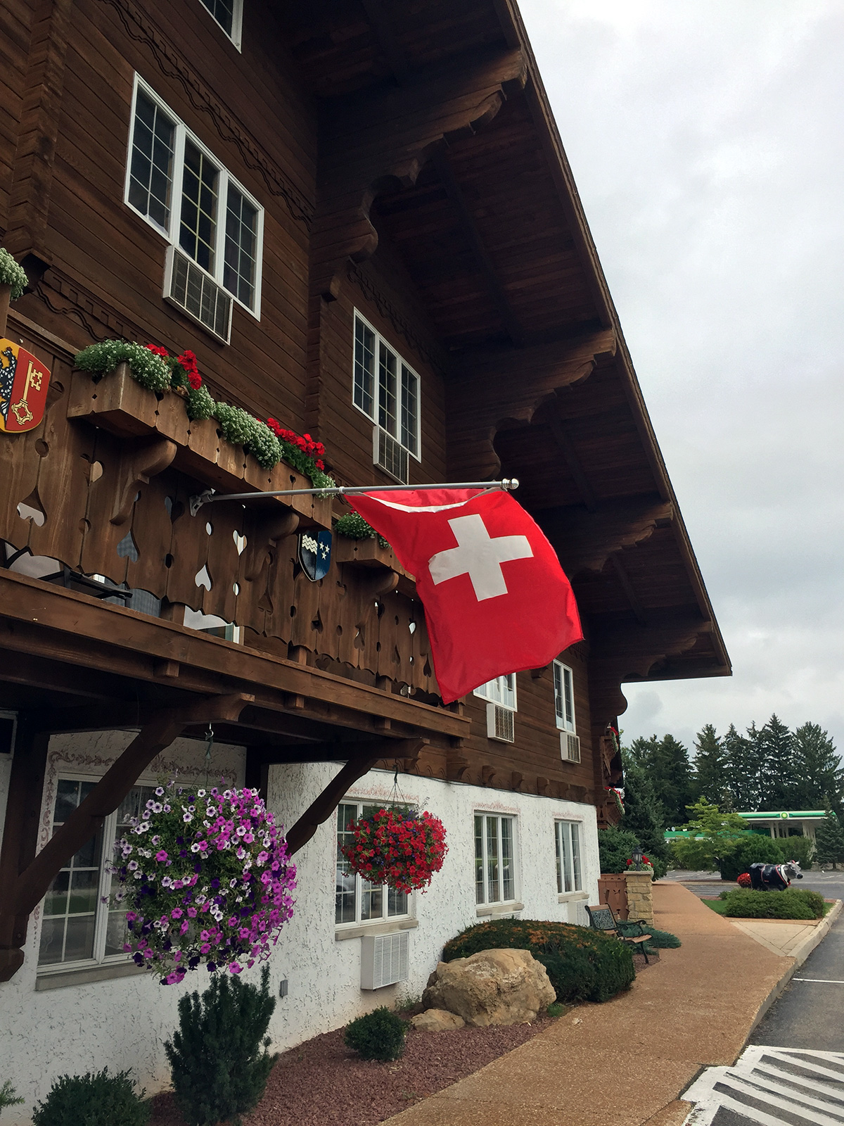 Chalet Landhaus Inn in New Glarus, WI by Jets Like Taxis