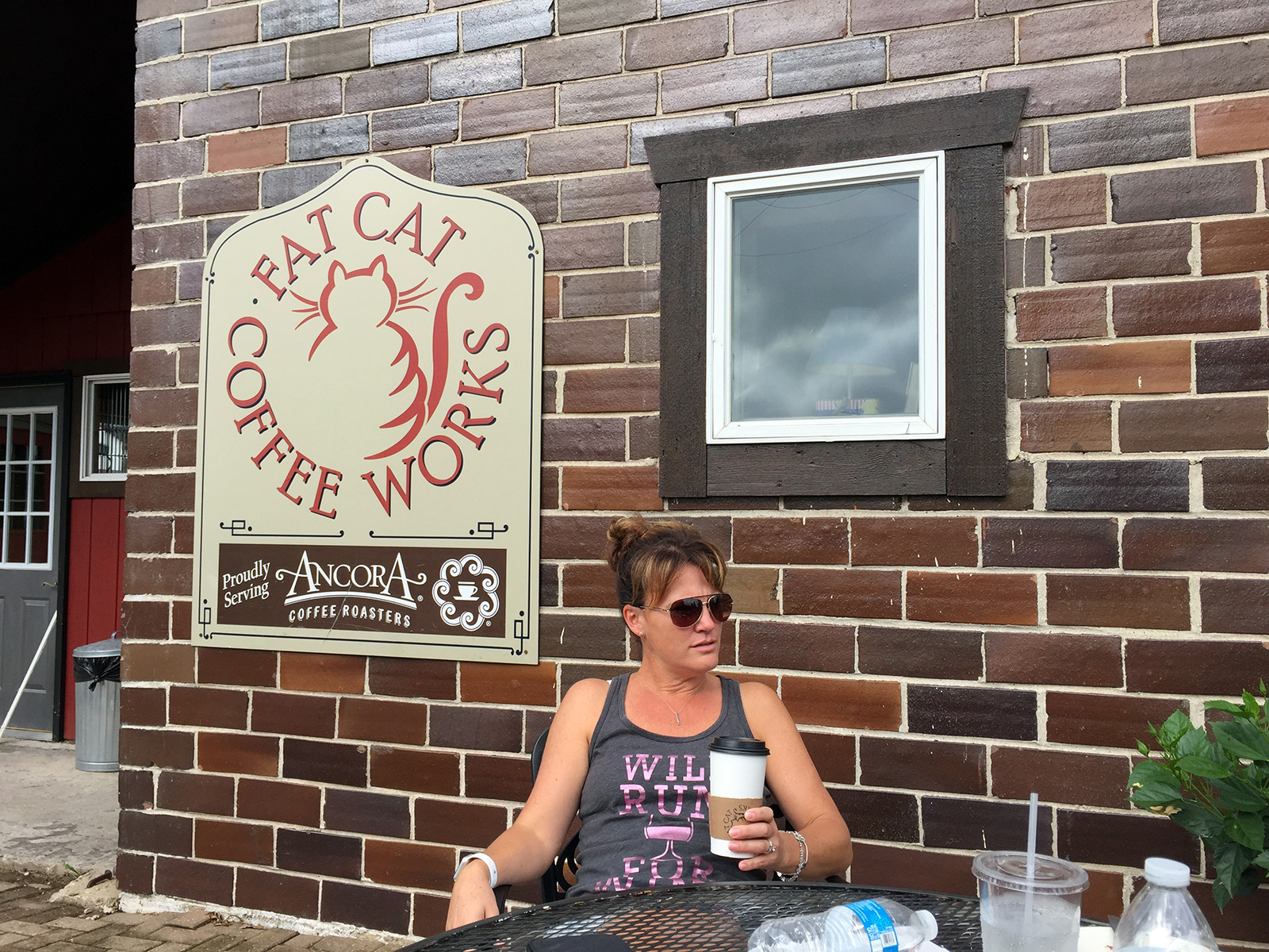 Fat Cat Coffee Works in New Glarus, WI by Jets Like Taxis