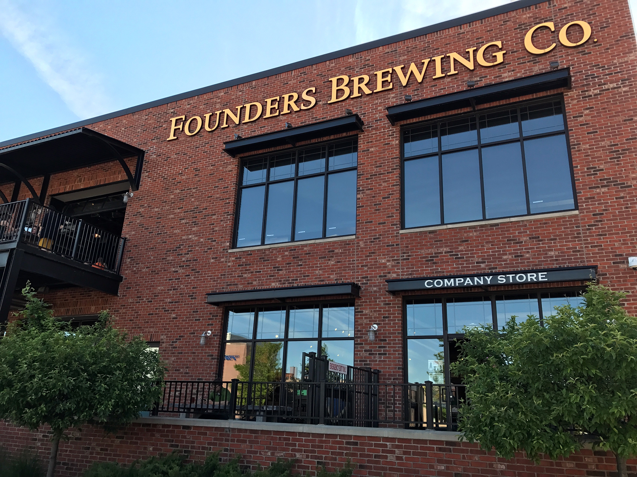 Founders Brewing Co. in Grand Rapids by Jets Like Taxis / Hopsmash