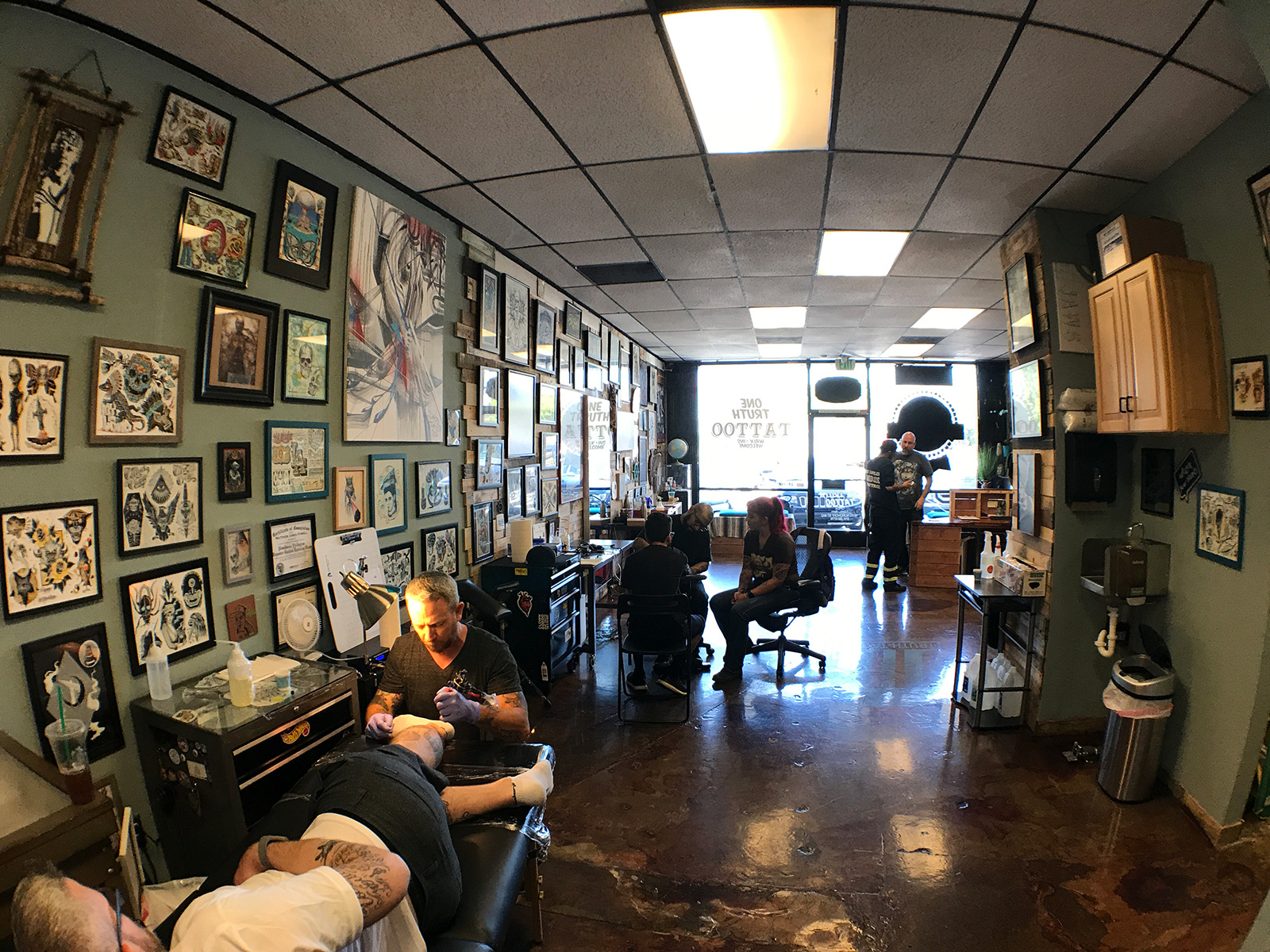 One Truth Tattoo in Northridge, CA by Jets Like Taxis
